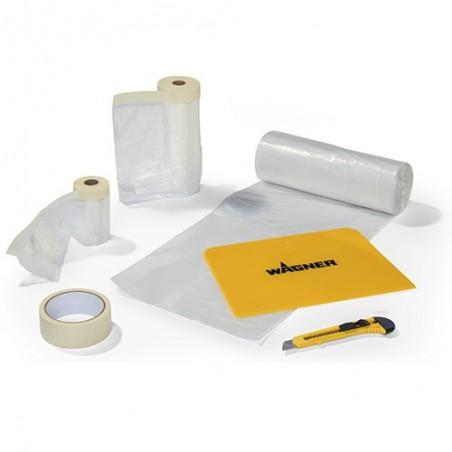 Kit de masquage pour pulvérisation premium