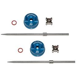 2 kits atomisation EOLE T1 Ø1mm et 2,5mm
