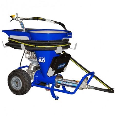 Machine à pulvériser les enduits JETPRO 80