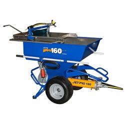 Machine à pulvériser les enduits JETPRO 160 compléte 400 V TRI