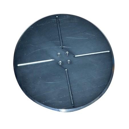 Plateau disque acier