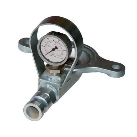 Flasque complète pour MUSTANG, MONO PLUS & PLUS SMALL avec manomètre