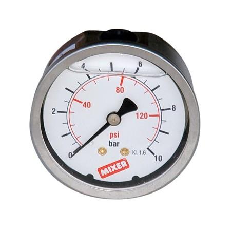 Manomètre pression pâte 0-100 bars