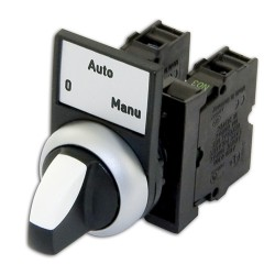Bouton 0-AUTO-MANU complet
