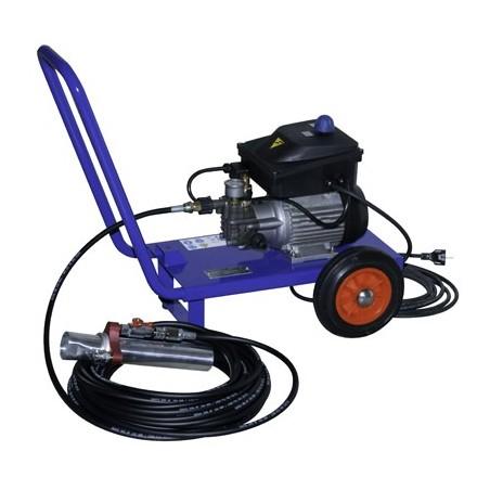 Kit pour flocage pompe, tuyau, lance & buses